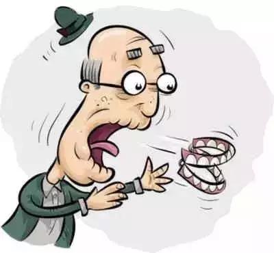 老年人全口牙齿缺失