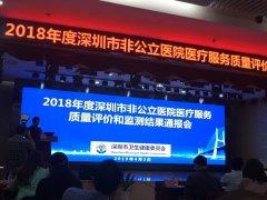 深圳爱康健口腔医院再添荣誉 获评2018年医疗服务质量B级单位!