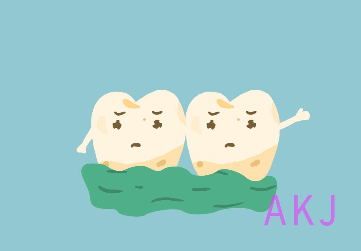 牙黄牙结石