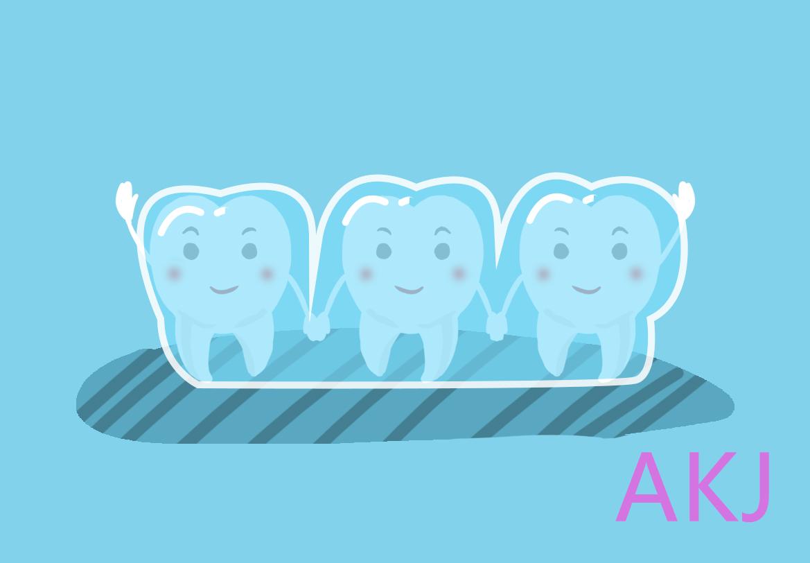 牙齿保持器